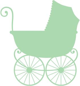 Silhouette Online Store - View Design #26057: antique baby carriage