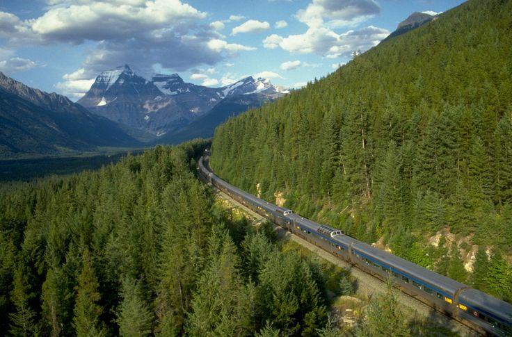 via rail canada | VIA Rail • Romance Through The Canadian Rockies ...
