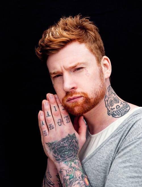 314 best ginger images on pinterest beard style beards for Red beard tattoo