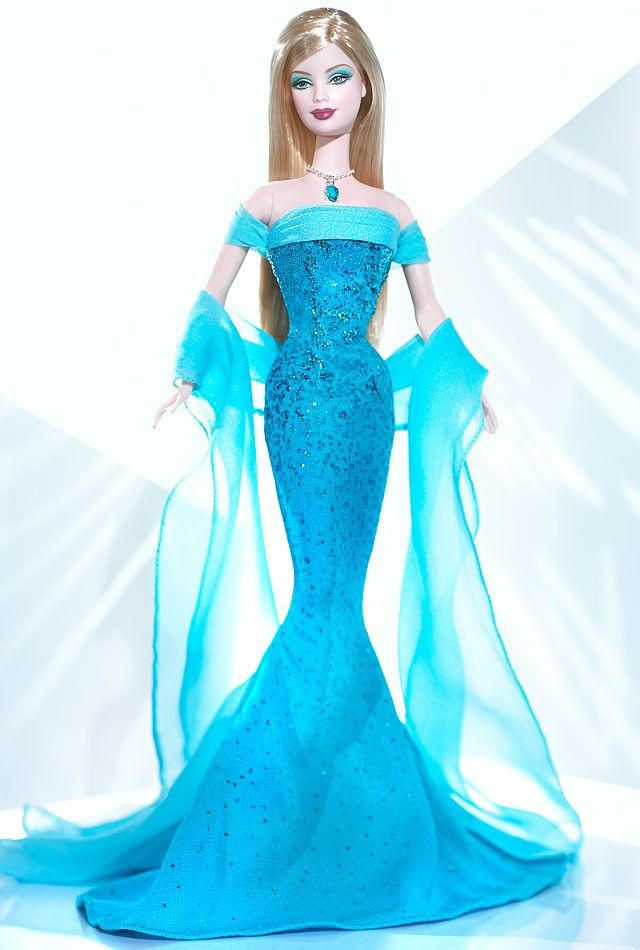 December Turquoise™ Barbie® Doll | Barbie Collector 2004