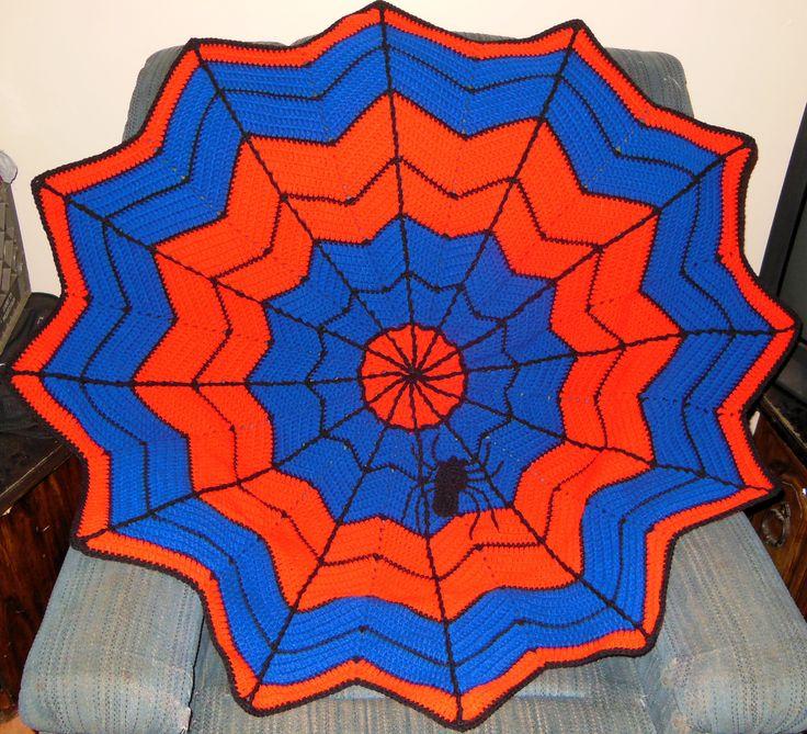 8 best Spiderman assortment images on Pinterest | Crochet blankets ...