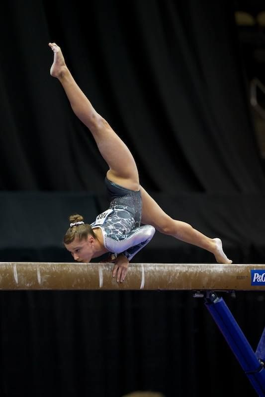 Madison Desch--2014 P&G Championships day one