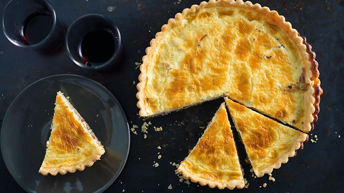 Anneka Manning's Quiche Lorraine. Check out our Bakeproof column for tips and recipes.