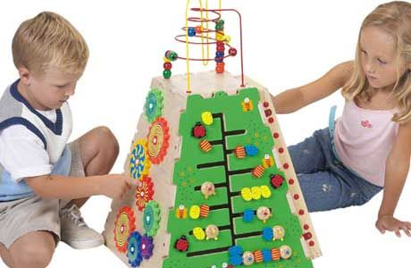 Educational toys are such toys that help a child to develop special skills and educational values while they are playing with them.