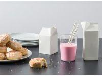 MADE Essentials Ramus Porzellan 2er Set Krüge, Weiß   – Harbison House