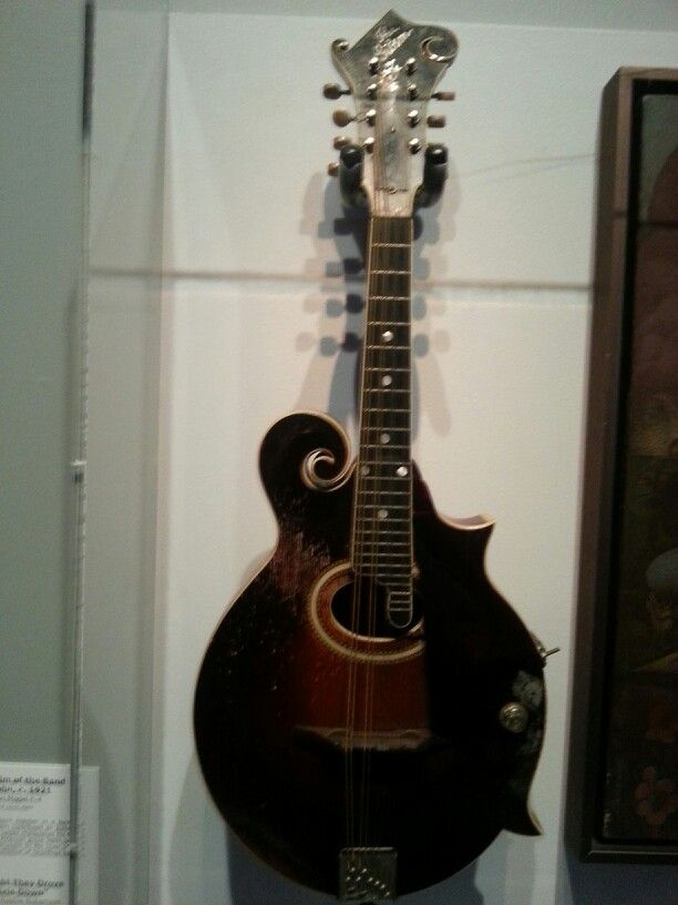 Levon helms mandalin built in the 30's i believe. Rock n roll hall of fame