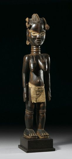 Dan Lü Me Figure, Ivory Coast http://www.imodara.com/post/92257357849/ivory-coast-dan-lu-me-wooden-person-female