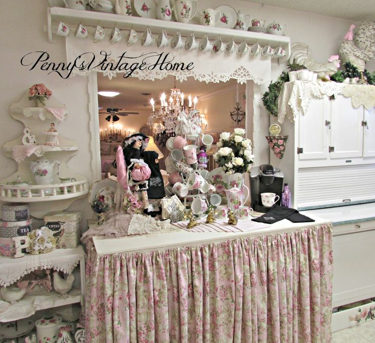 Pennyu0027s Vintage Home Halloween Coffee Bar 140