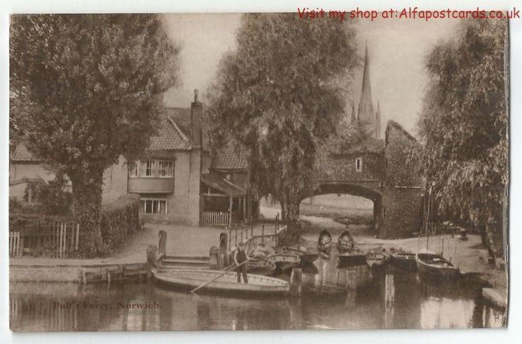 Norfolk Norwich 2 Vintage Postcards | eBay