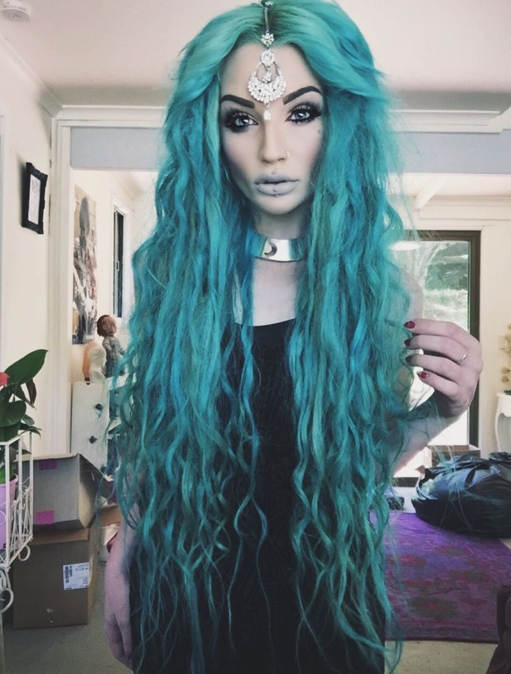 That Turquoise Hair The Proserpina Or Victoria In Our