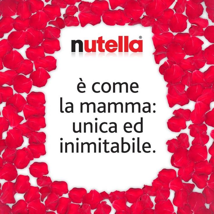 #Nutella festeggia le Mamme