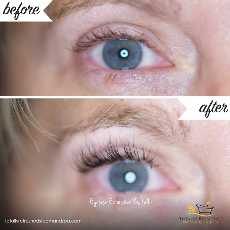 Beautiful Classic Eyelash Extensions by Kellie