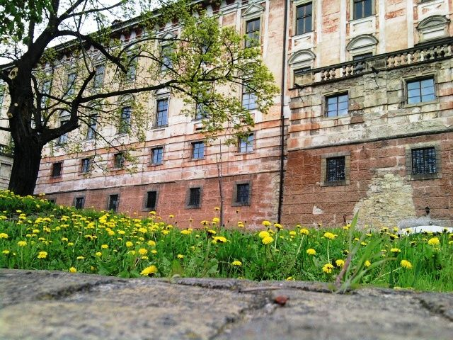 Roudnice nad Labem (north Bohemia, distr.Litoměřice) in a spring time