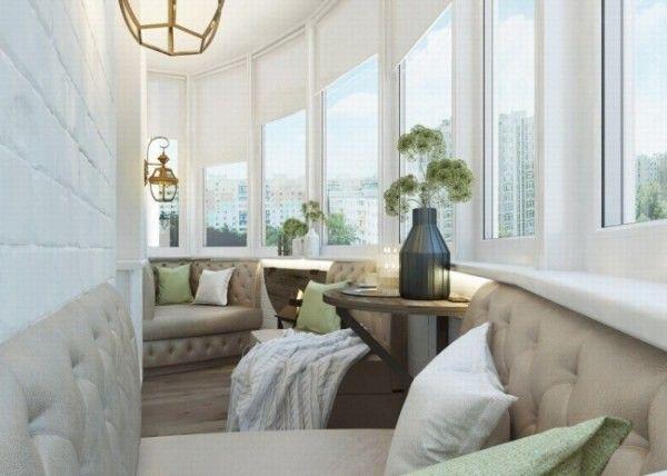 Стильные и уютные балконы и лоджии