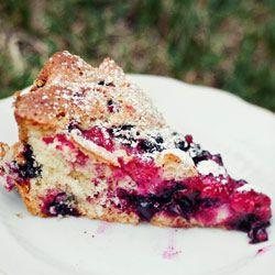 Ciasto z owocami - Przepis