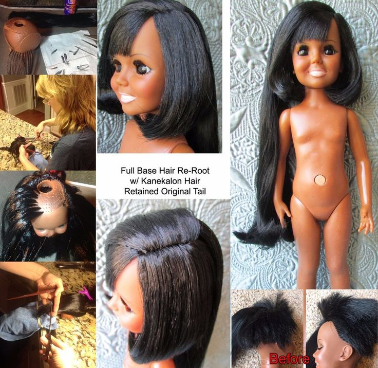 Restoration SERVICE  *I can fix your Crissy Family Doll *Hair Re-Root Re-Vamp
