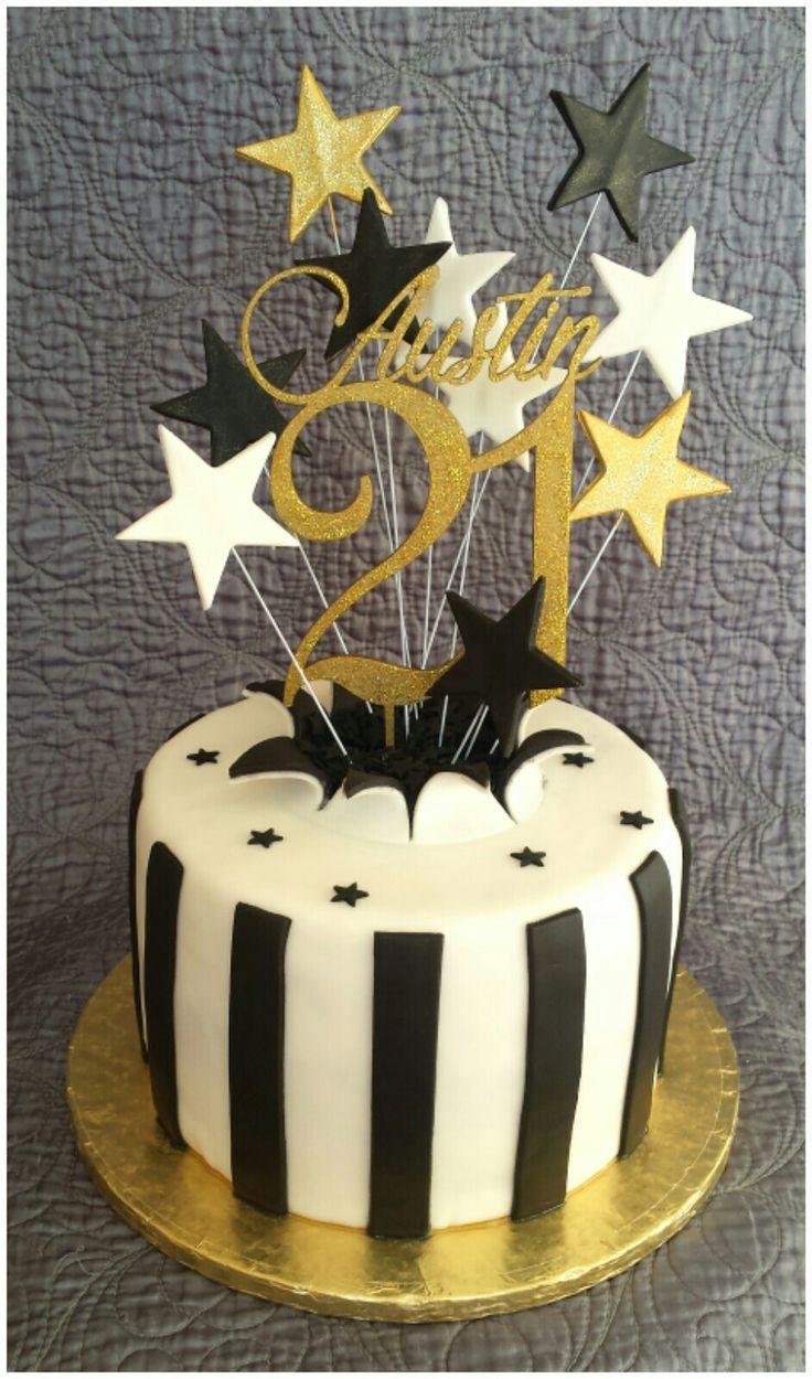 21st birthday cake taart verjaardag taarten gebak