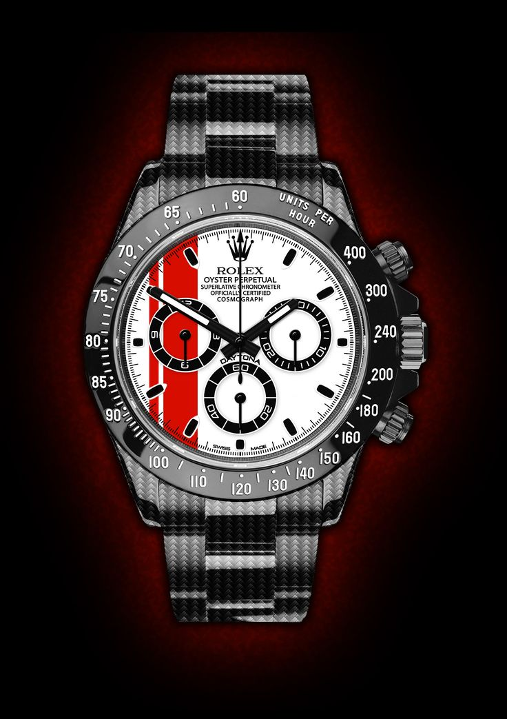Rolex Daytona Red Racing. By designer Niklas Bergenstjerna.   Raddest Men's Fashion Looks On The Internet: http://www.raddestlooks.org