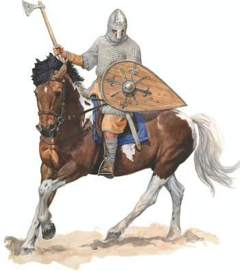 "0900 - 0999 Boleslav the Brave's mounted warrior (pol.""pancerny"" - Xcent)"