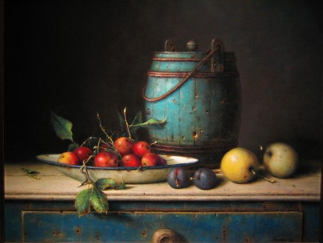 Willie Berkers - Realistische romantische schilderkunst