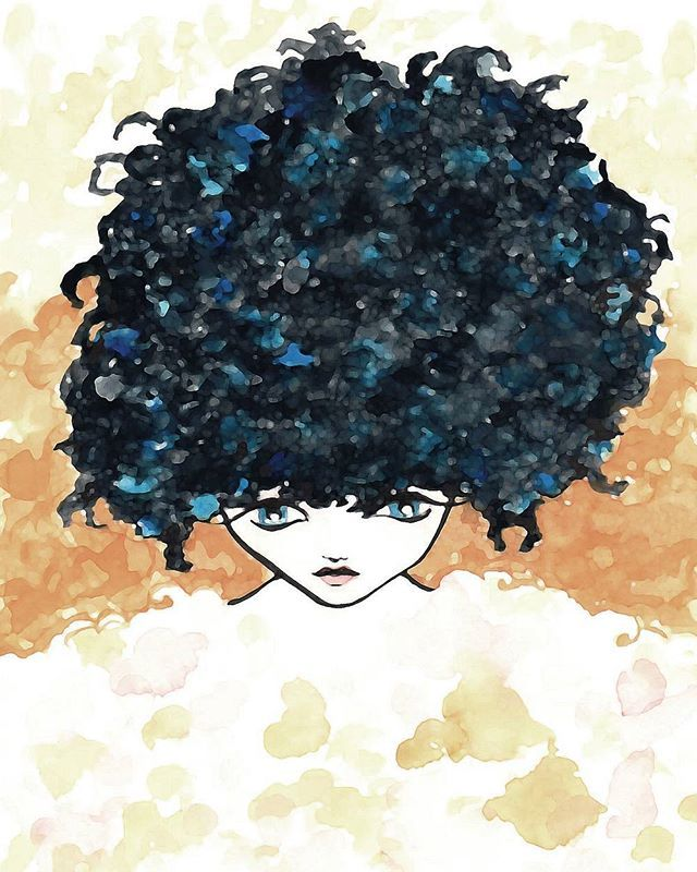 Carolyn [style and curls]  #avresdesign #watercolour #aquarell #curls #hair #girl #fashion #style #artistic #drawing #pen #pencil #sketch #artist #beautiful #instaartist #instaart #art #graphic #sketchy #gallery #draw #illustration #artsy #picture #artlovers #artwork #bestoftheday #photooftheday #goodmorning