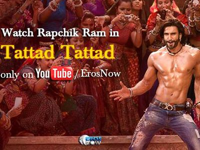 Ranveer Singh makes a grand entry with Tattad Tattad- New Song from Ram Leela!