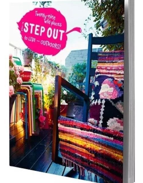 Ikea Hållö Step In Step Out Outdoor Living Coffee Table Book Decorating Design  | eBay