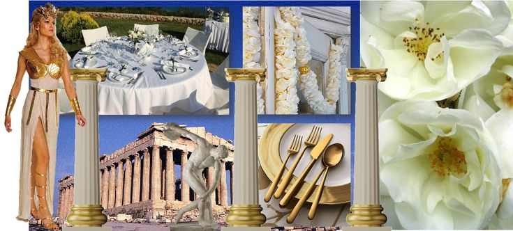 1000 images about greek mythology birthday party on for Ancient decoration