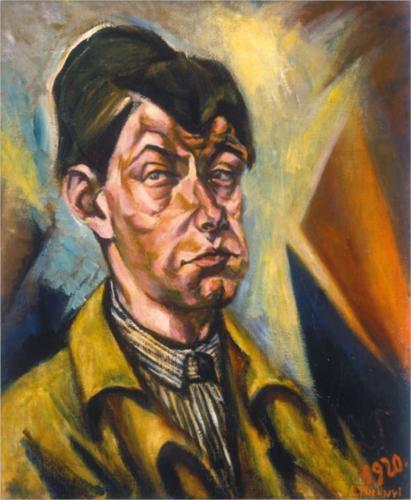 Lajos Tihanyi - Self-portrait