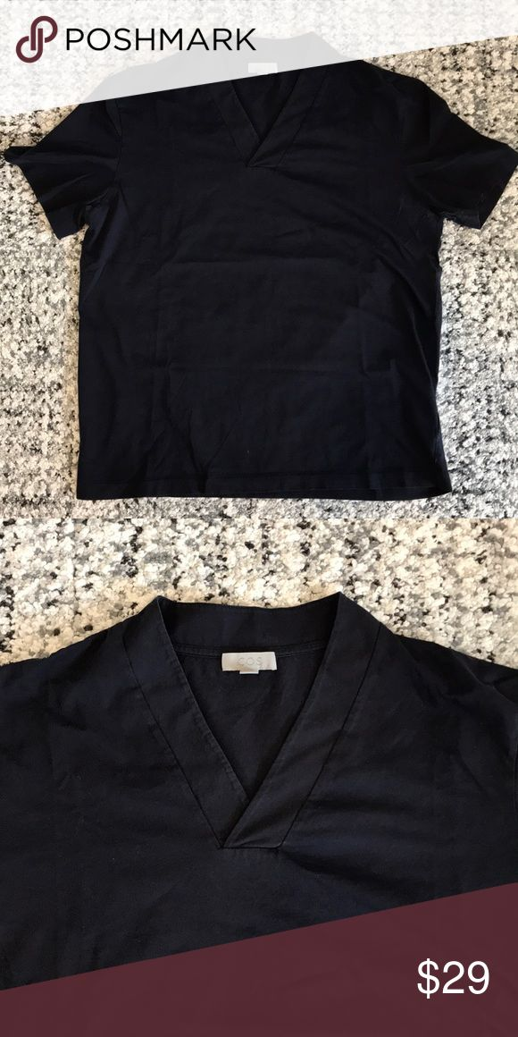 COS shawl collar t-shirt Good condition COS Shirts Tees - Short Sleeve