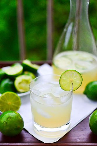 Classic Lime Margaritas from Around the Kitchen.