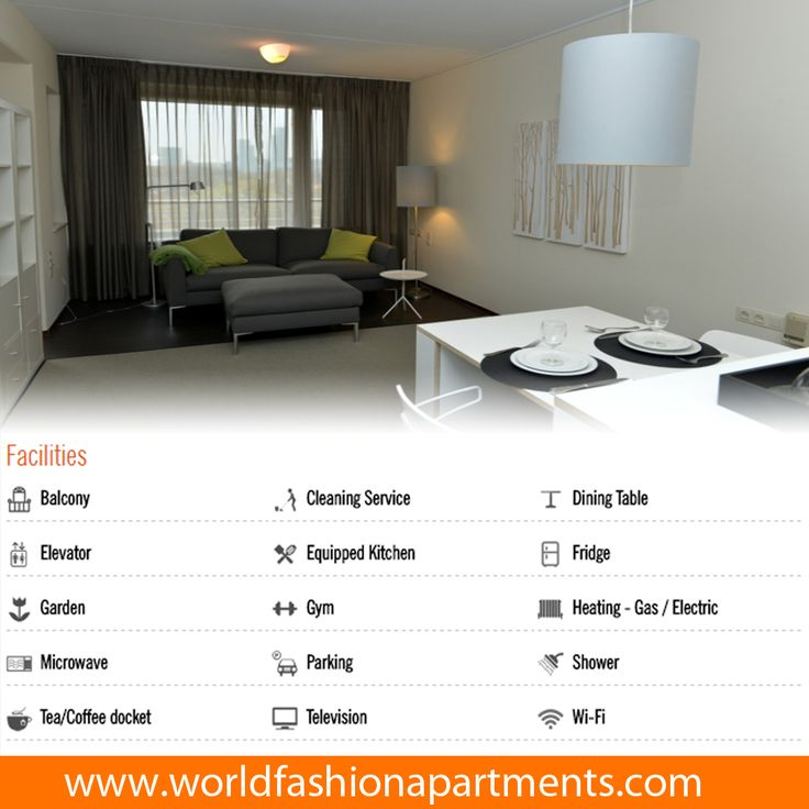 Available fully facilitate & well equipped The Hague studio apartments at http://www.worldfashionapartments.com/H-1023-2570-The-Hague-Studio-Apartment.aspx #WFA #WorldFashionApartments #Apartment #Apartments #TheHague #StudioApartments