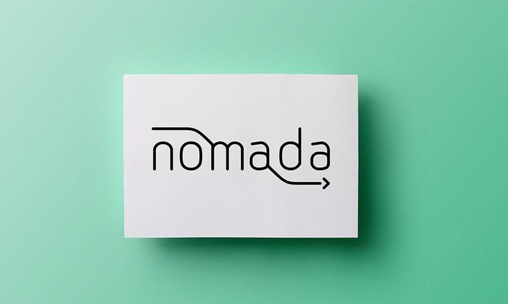 Nomada - logo - by Lotne Studio