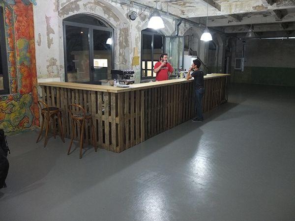 SAMO Banco Bar by Pier Giuseppe Giorcelli, via Behance
