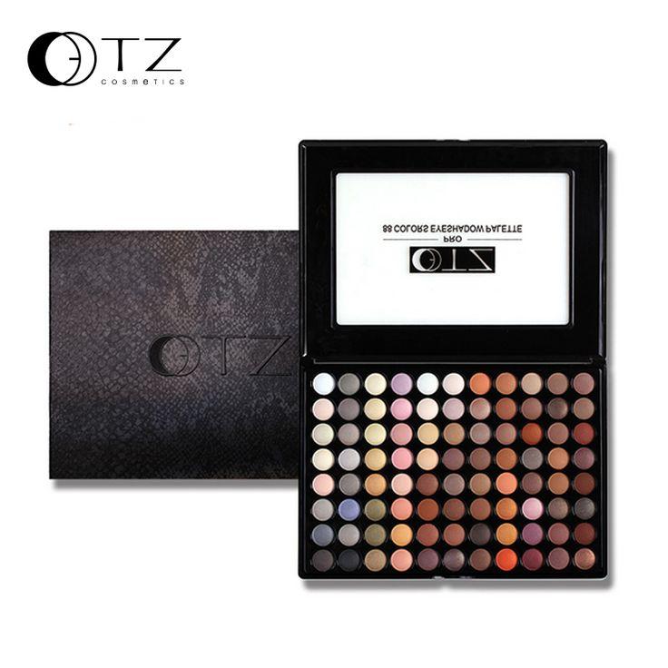 88 colores tierra naked eyeshadow palette set de maquillaje de belleza cosméticos de maquillaje profesional paleta de sombra de ojos tz marca