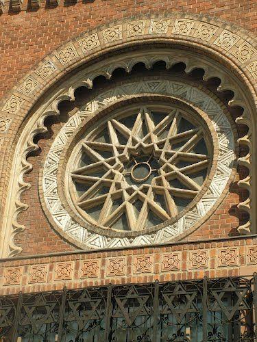 Szombathely synagogue window detail