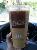 My guilty pleasure a Sugar Free Vanilla Ice Coffee from McD's. Only 90 calories in a medium and affordible too.