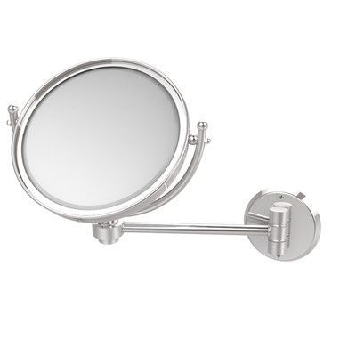 Allied Brass Universal Extendable Mirror Magnification: 5x, Finish: Polished Chrome