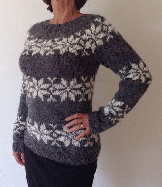 Sarah Lund sweater - handmade from pure Icelandic wool. For sale - made to order - from www.frustrik.dk or etsy.com
