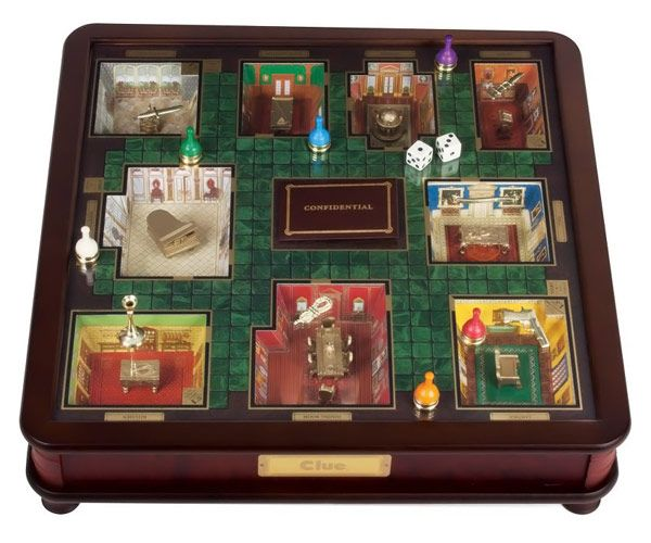 Clue Luxury Edition Board Game