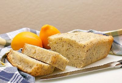 APPLE A DAY: Lemon-Chia Seed Tea Bread | foodies | Pinterest