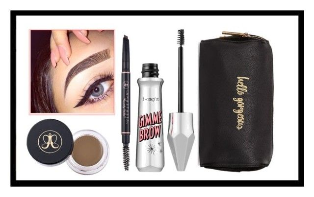 """Dream eyebrows kit"" by kiwijulin on Polyvore featuring beauty and Neiman Marcus"