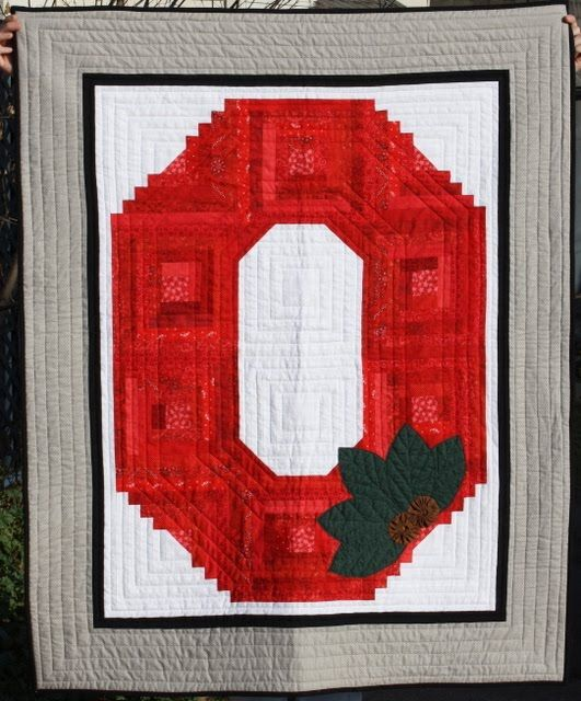 58 Best Quilts Sports Images On Pinterest Ohio State