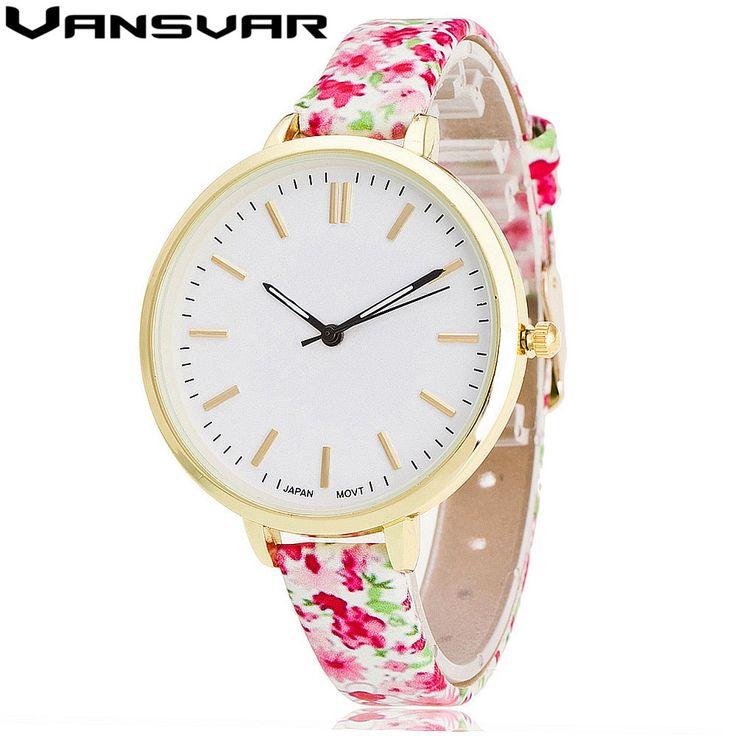 $2.89 (Buy here: https://alitems.com/g/1e8d114494ebda23ff8b16525dc3e8/?i=5&ulp=https%3A%2F%2Fwww.aliexpress.com%2Fitem%2FVansvar-Brand-Fashion-Leather-Flower-Watch-Casual-Women-Quartz-Watches-Clock-Relogio-Feminino-V06%2F32784819992.html ) Vansvar Brand Fashion Leather Flower Watch Casual Women Quartz Wrist Watches Clock Relogio Feminino Girlfriend Gift V06 for just $2.89