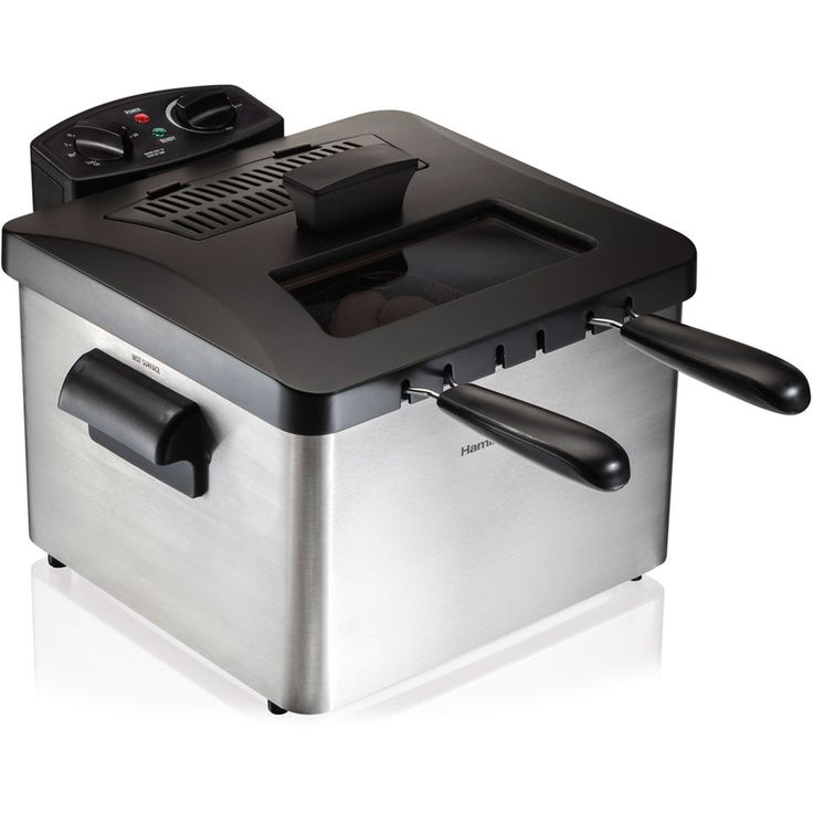 Hamilton Beach Professional-Style Deep Fryer French Fry Maker #HamiltonBeach