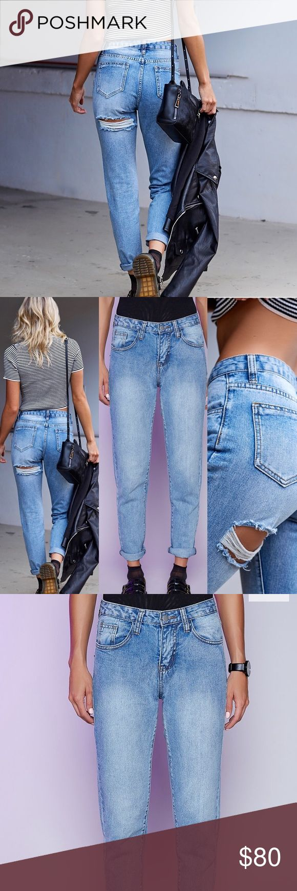 Australian Boutique Jeans - baby got back jeans Ships next day! Size M or 28 super chic light wash jeans, ordered from my favorite boutique Tobi, awesome fit and great fabric. Make an offer :) Tobi Jeans
