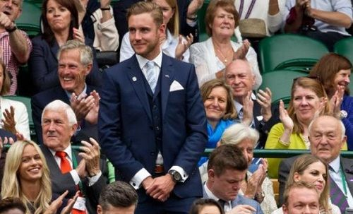 PHOTOS: England Cricketers Alastair Cook, James Anderson and Stuart Broad at Wimbledon - http://www.tsmplug.com/cricket/photos-england-cricketers-alastair-cook-james-anderson-and-stuart-broad-at-wimbledon/