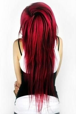 Would love to dye my hair like this... I don't know if I could pull it off though...