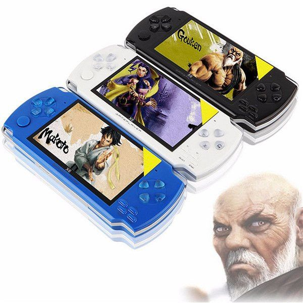 4.3'' Screen 8G 32 Bit Portable Handheld Game Console Player 10000+ Retro Games Black   #Games #Console #Easy #Quick #Now #Simple #Fast   #Accessories #Game #Computer #Gamer #Gaming #Awesome #Gadget #New