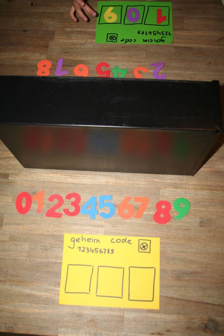 raad eens mijn geheime code, cijferherkenning, minder, meer, fun Leuk om te maken als spel voor met de kinderen zonder dat ze beseffen dat ze leren